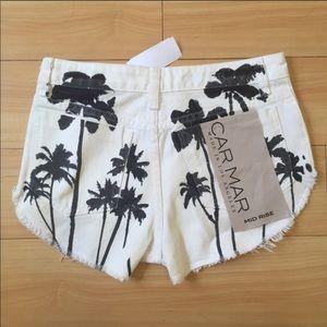 Carmar palm print rare shorts